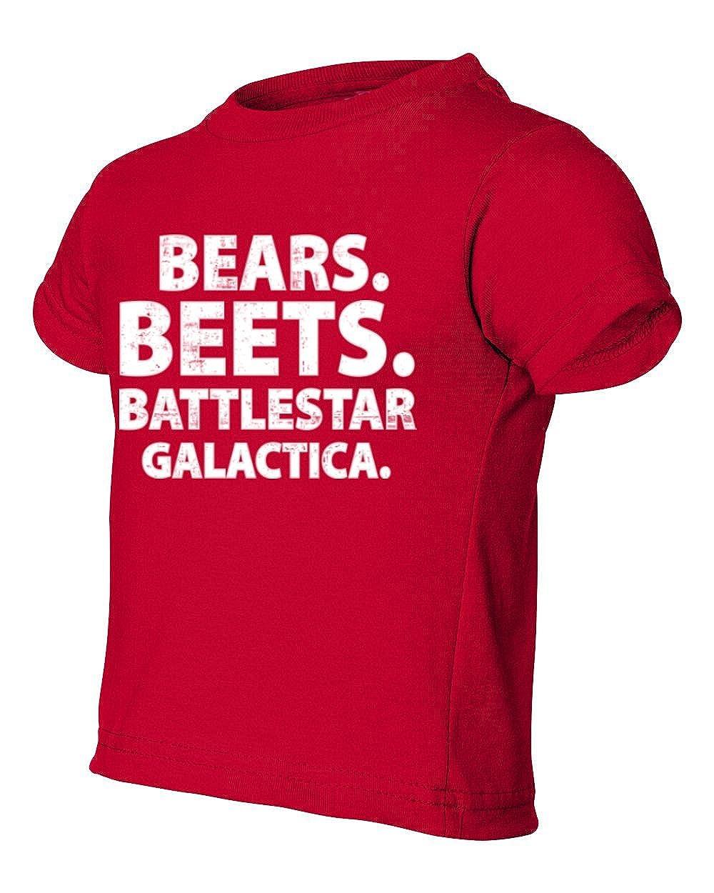 Societee The Office Kid Bears Beets Battlestar Galactica Toddler Little Boy Infant T-Shirt