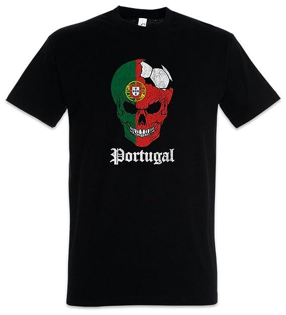 Urban Backwoods Portugal Football Skull I T-Shirt Tamaños S – 5XL brczP97