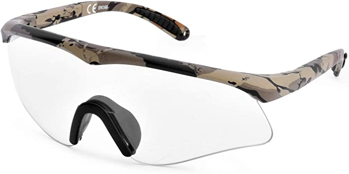 protecci/ón UV Gafas de seguridad con lentes antivaho transparentes antivaho y agarres antideslizantes