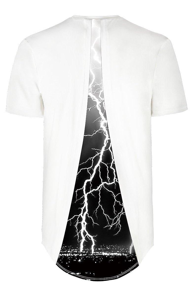 Azuki Summer T-Shirts for Men Graphic Fashion White Round Neck Sports Regular