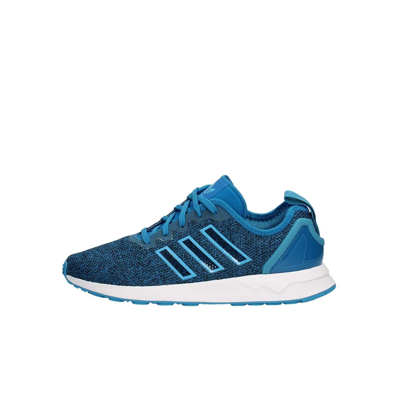 best website f8def e531c adidas ZX Flux ADV J Uniblue Craft Blue White: Amazon.co.uk ...