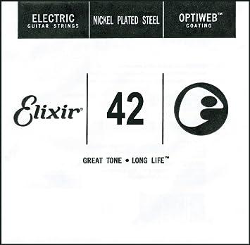Elixir 16242 optiweb cuerda, Wound, grosor 042: Sanodg: Amazon.es: Instrumentos musicales