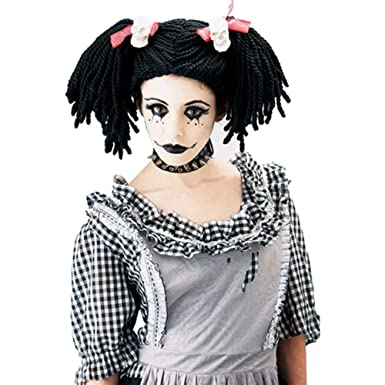 gothic doll Adult costume rag