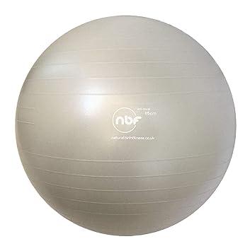 NBF Pelota de Gymnasia de 75cm, Balón de Ejercicio, Pelota de ...