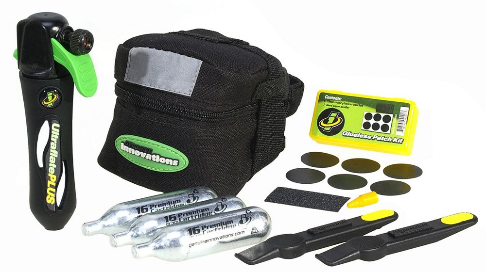 Genuine Innovations G2537 Deluxe Tire Repair and Inflation Seat Bag