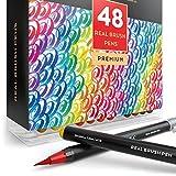 Arteza Real Brush Pens, - ASIN (B01N9IY5QF)