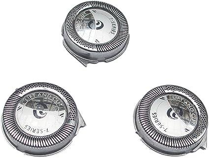 Juego de 3 cabezales de repuesto para afeitadoras Philips Norelco HQ6 Quadra Action: Amazon.es: Belleza