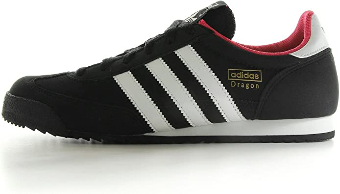 ven coreano Deformación  adidas Dragon W - Zapatillas de deporte de tela para mujer negro Noir,  blanc et rose 37 1/3: Amazon.es: Zapatos y complementos