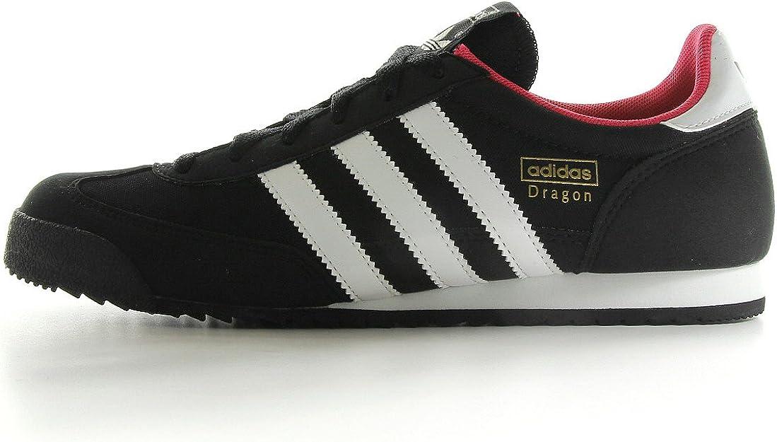 adidas Women's Dragon W Trainers Black Noir, blanc et rose 6 ...