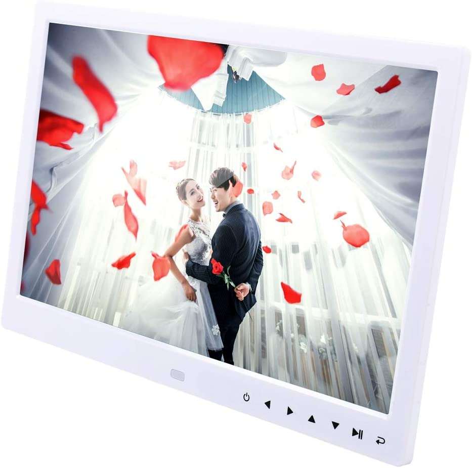 Color : White Allwinner Black Support USB//SD Card Input//OTG Lihuoxiu Consumer Electronics 13.0 inch LED Display Digital Photo Frame with Holder//Remote Control
