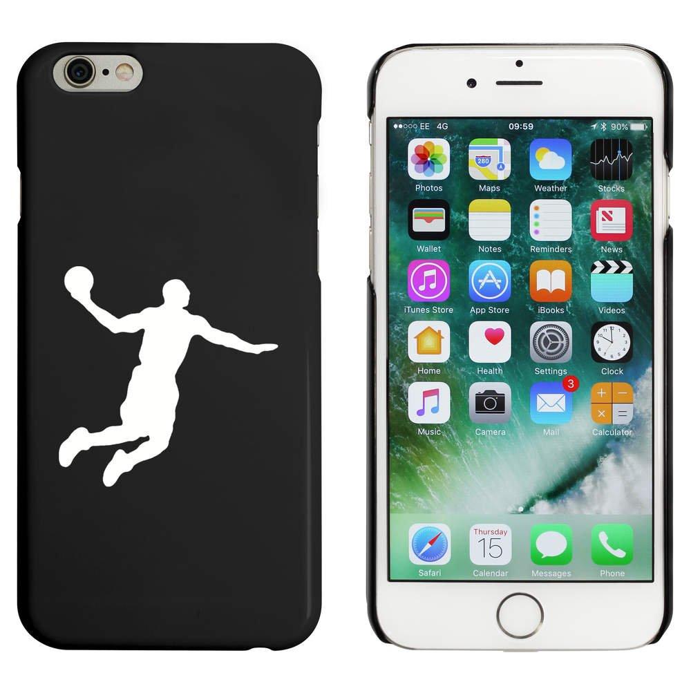 Azeeda Negro Jugador de Baloncesto Funda para iPhone 6 y 6s ...