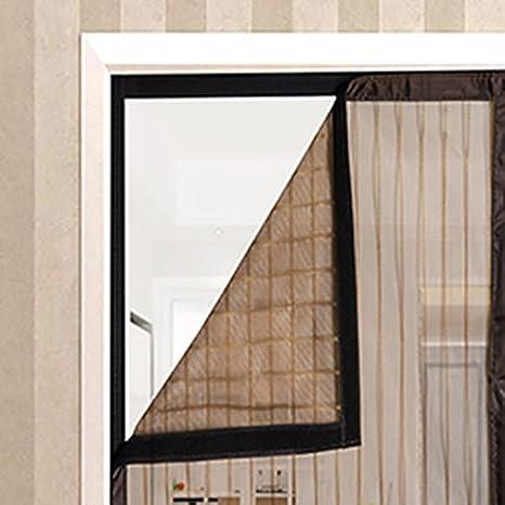 JLPCp Magic Mesh Cortina Cortina mosquitera magnética para Puertas ...