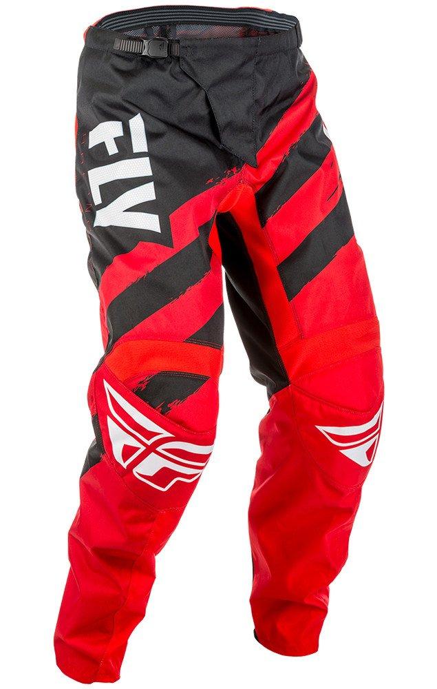 Fly Racing Men's Pants (Black/Hi-Vis, Size 22) 371-93922