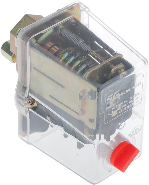 3-phase Single Port Air Compressor Pressure Switch Control Valve SG-6A