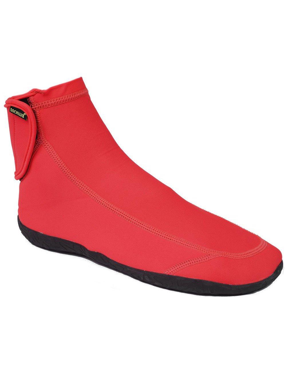 Sockwa G-HI Minimal Beach Sneaker B00KZ31PCO 12 M US|Red