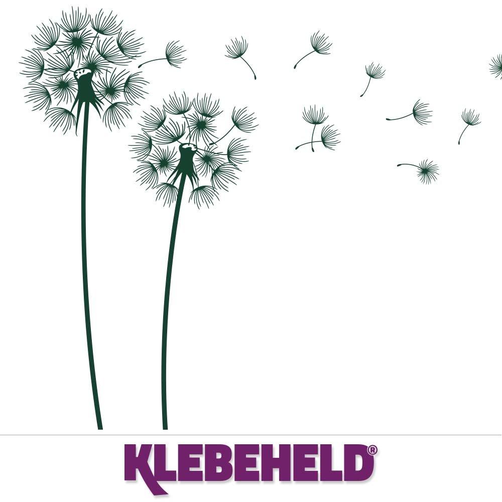 KLEBEHELD® Wandtattoo PusteBlaumen im Wind Größe 160cm, Farbe Farbe Farbe weiss B01M05GFYJ Wandtattoos & Wandbilder f39600