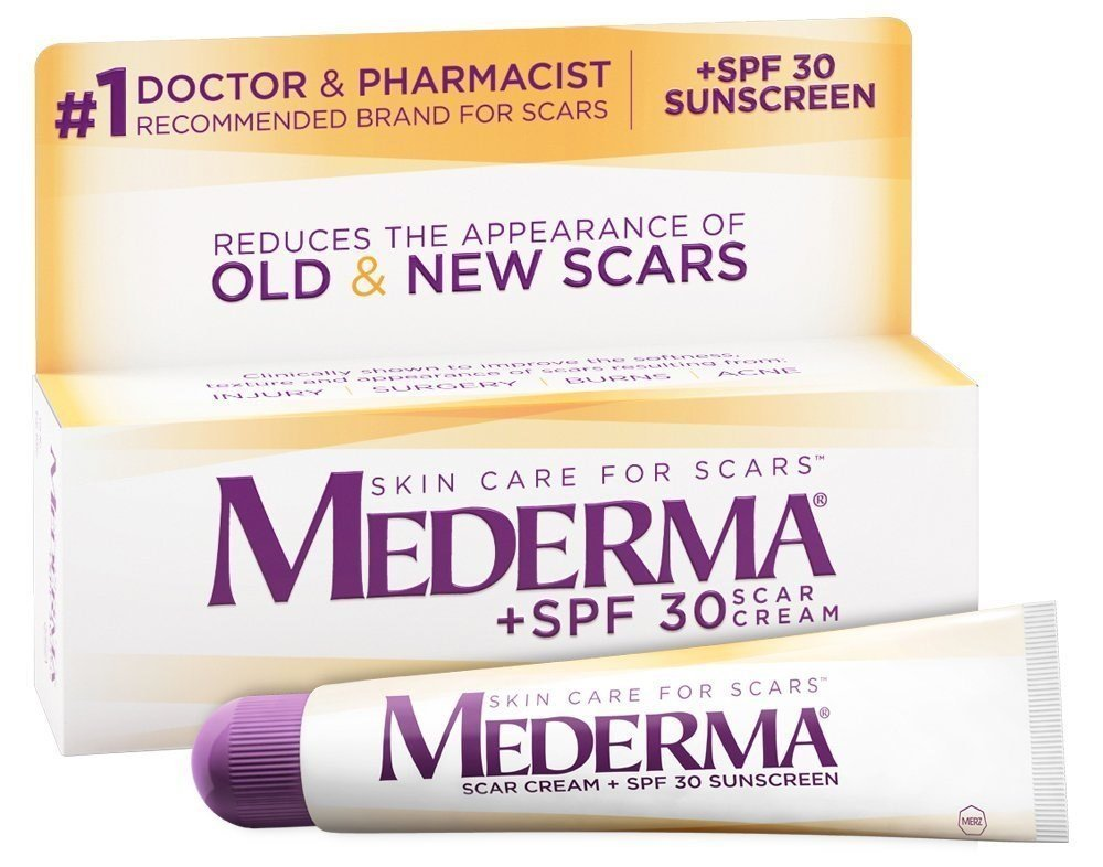 Mederma Scar Cream, SPF 30, 0.7 oz (Pack of 1)