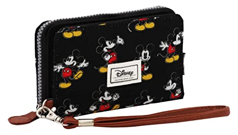Karactermania Disney Classic Mickey Moving Monederos, 16 cm, Negro