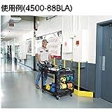 Rubbermaid Commercial Heavy-Duty Utility Cart, Ergo