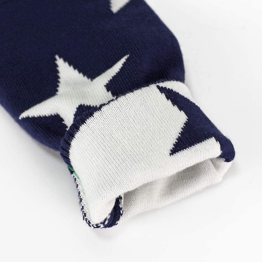 Bambini Natale Maglione Inverno Pullover a Maglia Manica Lunga Retro Cervo Outfits 2-3 Anni