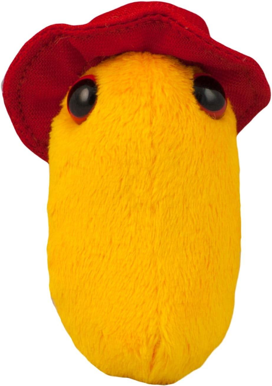 Giantmicrobes - Peluche Microbio gigante - Versión llavero Key Ring Pandemia de gripe (Influenza A virus H1N1): Amazon.es: Juguetes y juegos