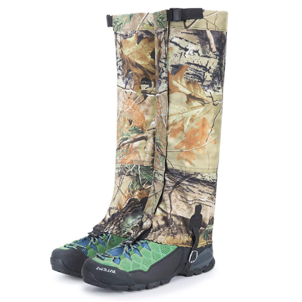 Yundxi Camo Legging Gaiters Waterproof Snowboard Boots Cover Trekking Shoes Gaitors for Hunting Walking Camping Outdoor Living Desert by Yundxi