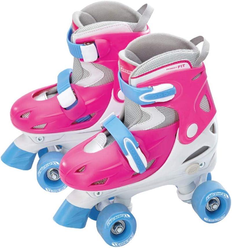 Medium Chicago Girls Quad Roller Skate Combo
