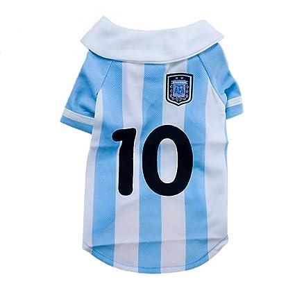 GR Camiseta del fútbol del Animal doméstico de la Sudadera con Capucha (Size : M
