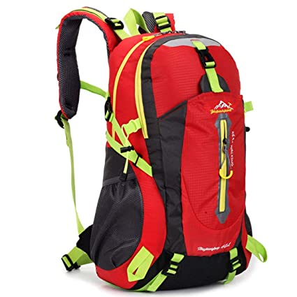 b3013b7db1 Image Unavailable. Image not available for. Color  SeniorMar 40l Water  Resistant Travel Backpack Camp Hike Laptop Daypack Trekking Climb Back Bags  ...