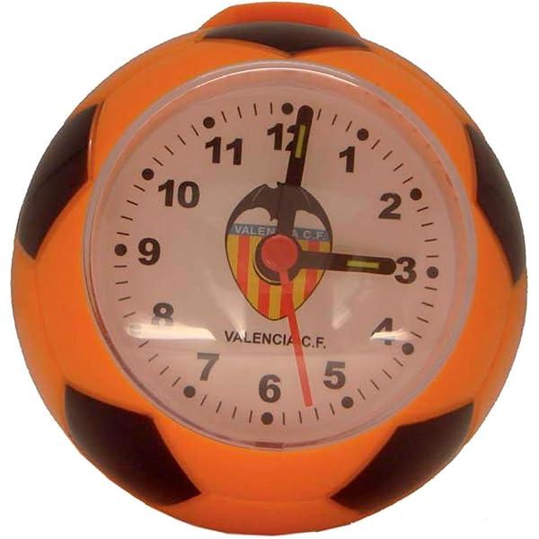 Valencia F.C. - Despertador Balón Vcf: Amazon.es: Deportes y aire ...