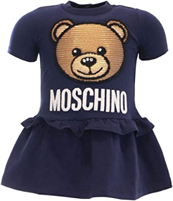 Moschino Girl Dress with Sequins