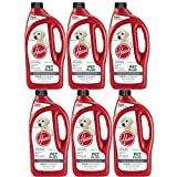 Hoover 2X PetPlus Pet Stain & Odor Remover 32 oz, AH30325NF, 6-Pack
