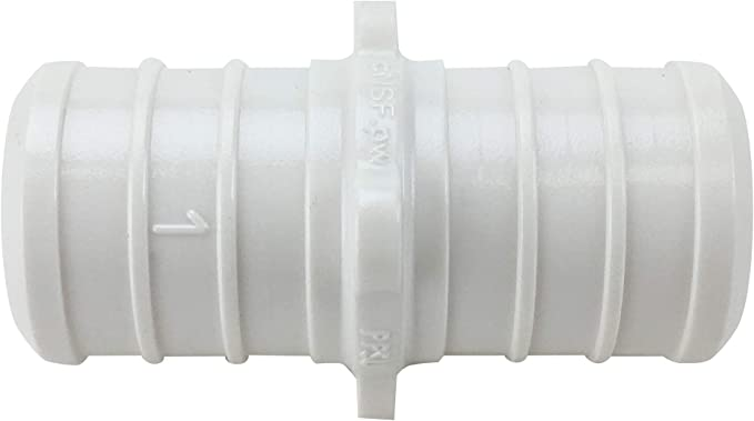 """Poly Alloy Lead-Free Crimp Fittings 1//2/"""" PEX Couplings 200"""