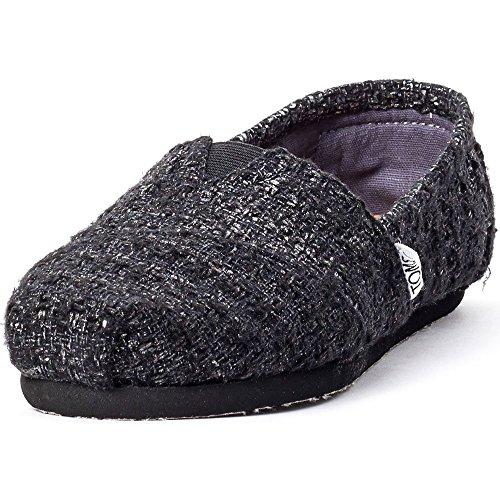 TOMS Womens Classic Casual Shoe Black 8zwkpDEE