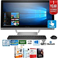 Beach Camera HP Pavilion 27-a230 Intel Core i5-7400T 1TB 27 All-in-1 PC Z5M04AA#ABA + Elite Suite 18 Standard Editing Software Bundle + 1 Year Extended Warranty