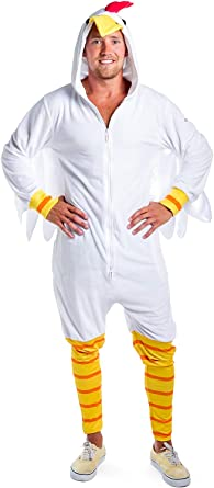 Amazon.com: Tipsy Elves - Disfraz divertido de pollo para ...