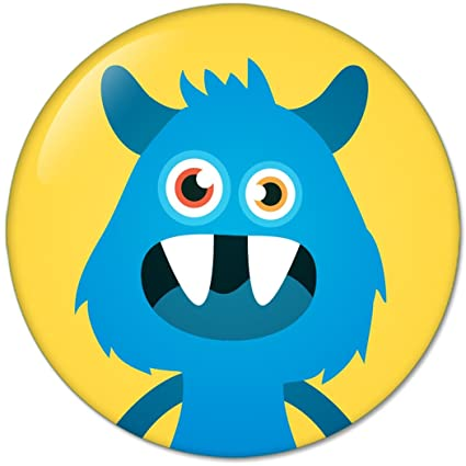 Amazon com: Funny Monsters Avatars 4 : Pinback Buttons 2 25