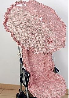 Colchoneta para silla de paseo universal vaquero mas capota y bolso ...