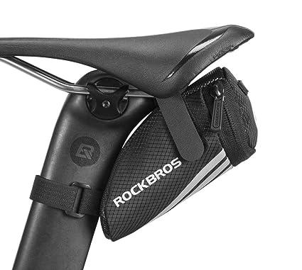 ROCKBROS Bolsa para Sillín de Bicicleta Asiento Resistente ...