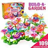 DIY Flowers Garden Building Toys Set for 3-8 Year Old Toddlers Kids Girls - Prefect Toys Gifts