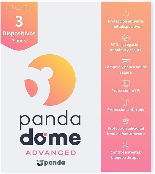 Panda Dome Advanced 2021 – Software Antivirus   3 ...