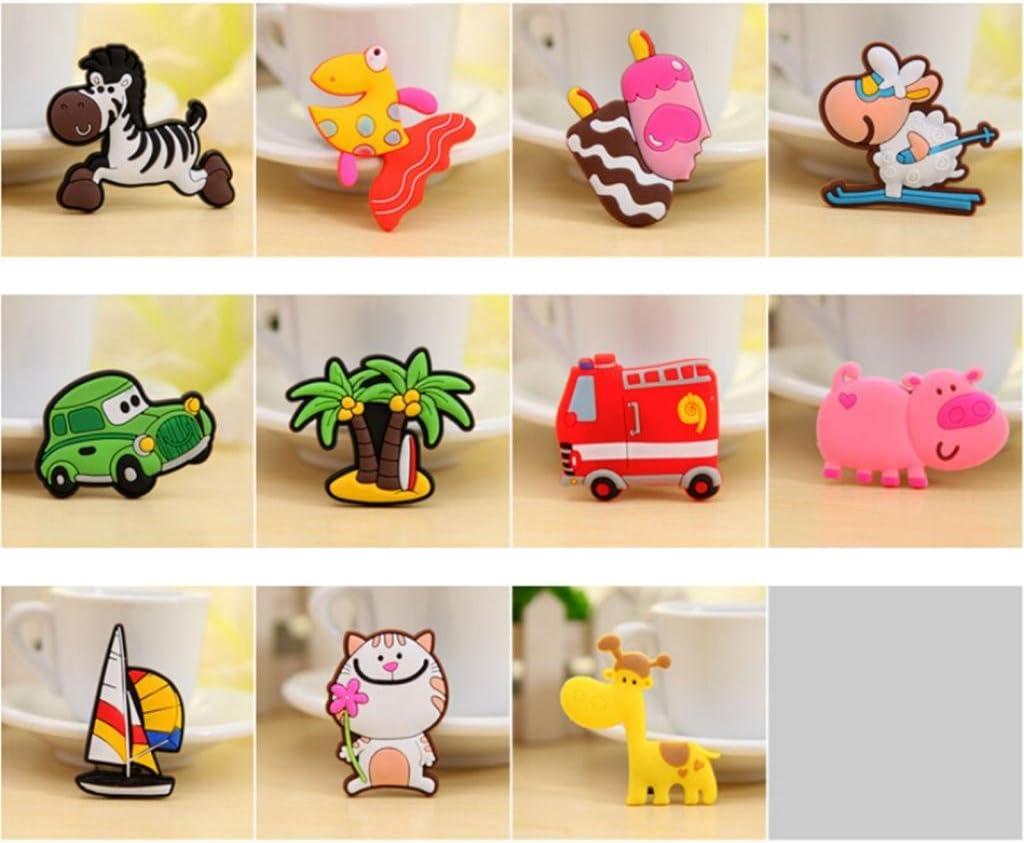 Nouveau animal style sticker de frigo autocollant magn/étique jouet /éducatif des enfants Cochon