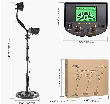 Amazon.com : SMART SENSOR Digital Underground Metal Detector ...