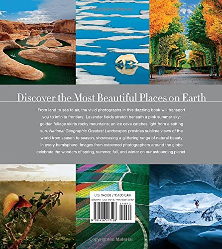 61LMRhoxzlL - National Geographic Greatest Landscapes: Stunning Photographs That Inspire and Astonish