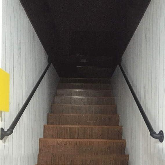 Retro Pasamanos Soportes for montaje en pared Balaustrada Barandilla |Heavy Duty escalera sujeta barras |Bannister barra de apoyo Kit al aire libre barras de sujeción (25-450cm) AAA++++: Amazon.es: Bricolaje y herramientas