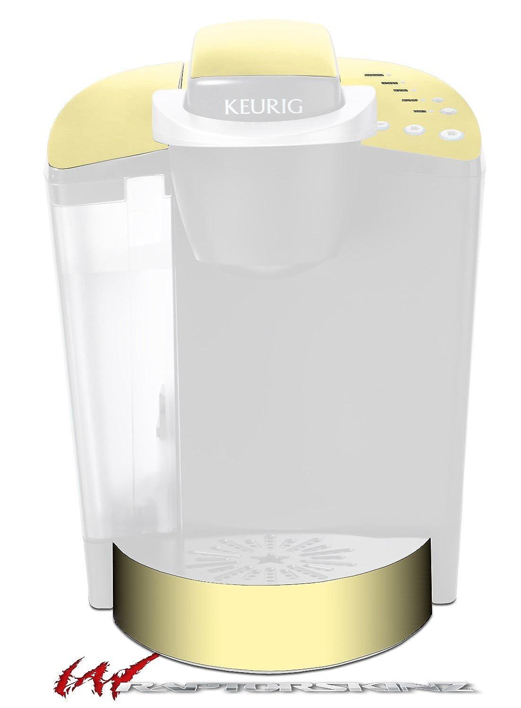ソリッドコレクションイエローSunshine – デカールスタイルビニールスキンFits Keurig k40 Eliteコーヒーメーカー( Keurig Not Included )   B017AK4C4M