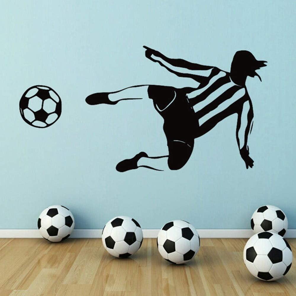Tianpengyuanshuai Fútbol niño Etiqueta de la Pared Etiqueta de la ...