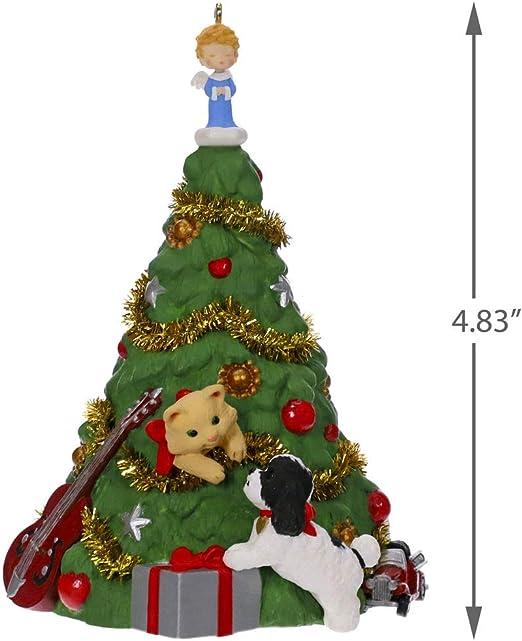 Polar Penguin Mystery Frosty Christmas Tree Hallmark Keepsake Ornament In Box