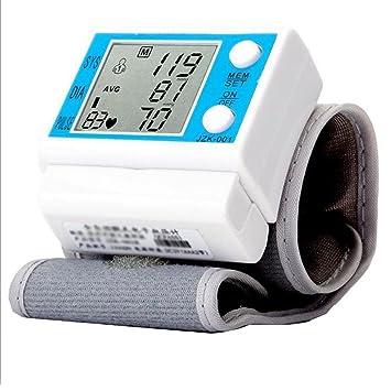 Tensiómetro de Muñeca Eléctrico Monitor Digital de Presión Arterial Pantalla LCD para Atención médica a domicilio, 01#: Amazon.es: Salud y cuidado personal