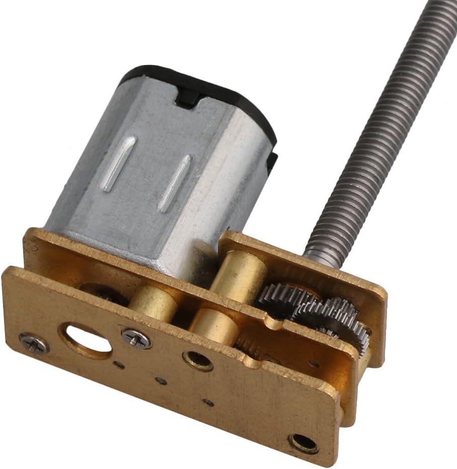 60RPM Cnbtr DC 12/V 120RPM elettrico ingranaggio micro m3/x 55/MM albero motore per robot fai da te modello giocattoli RC auto meccanico braccia